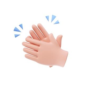 Icona di mani che applaudono