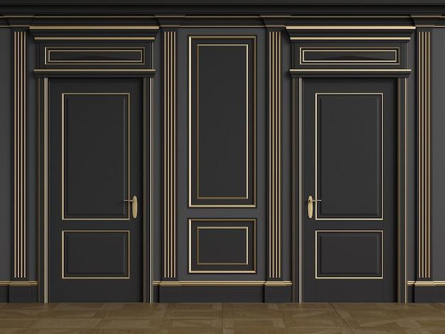 Architettura classica delle pareti interne