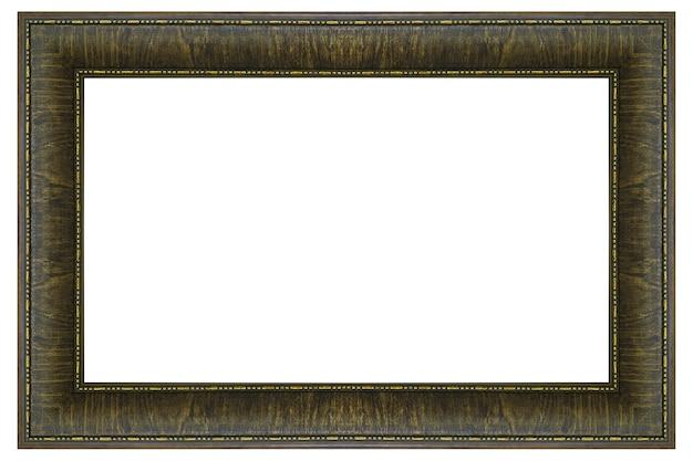 Cornice classica isolata su sfondo bianco