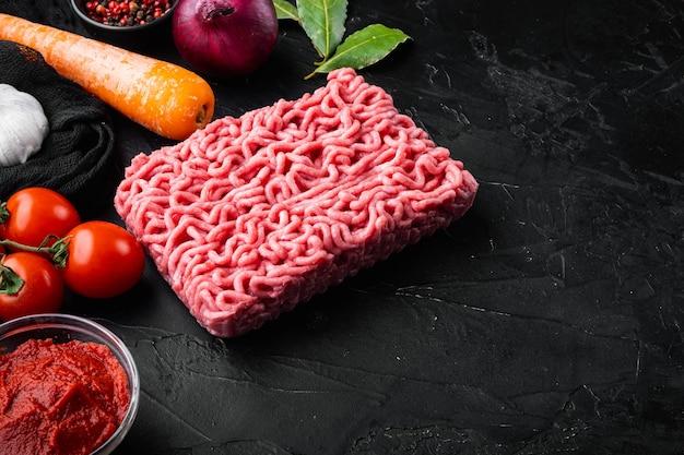 Salsa bolognese italiana classica ingredienti carne macinata