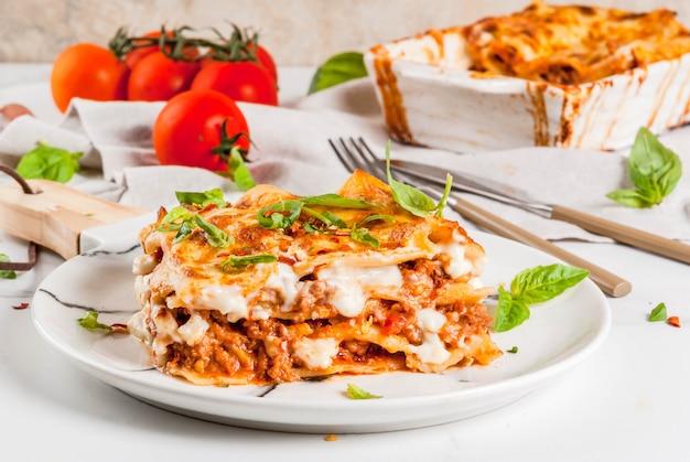 Lasagne classiche alla bolognese