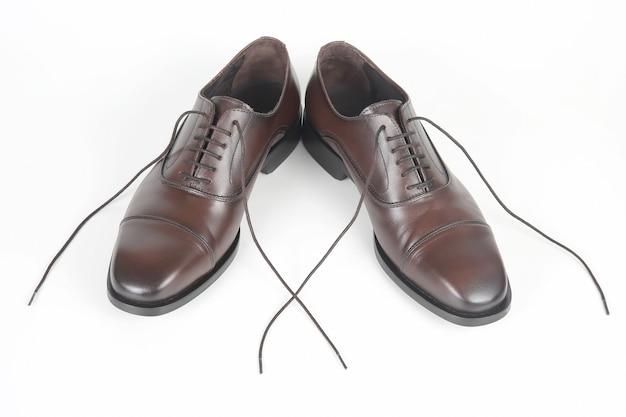 Scarpe marroni da uomo classiche