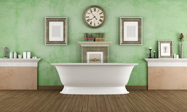 Vasca da bagno in stile classico