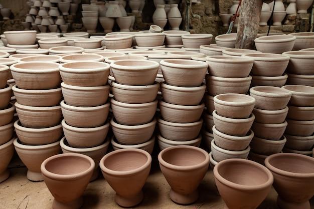 Mortai di argilla per la cucina tailandese