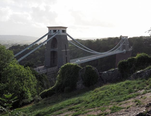 Il ponte sospeso di clifton a bristol