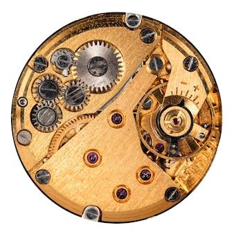 Orologio meccanico vintage ad alta risoluzione e dettaglio