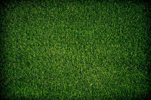 Vicino sfondo erba artificiale