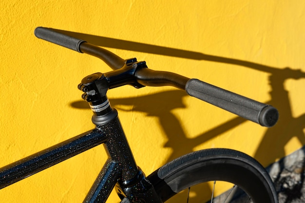 Chiudere la bicicletta all'aperto