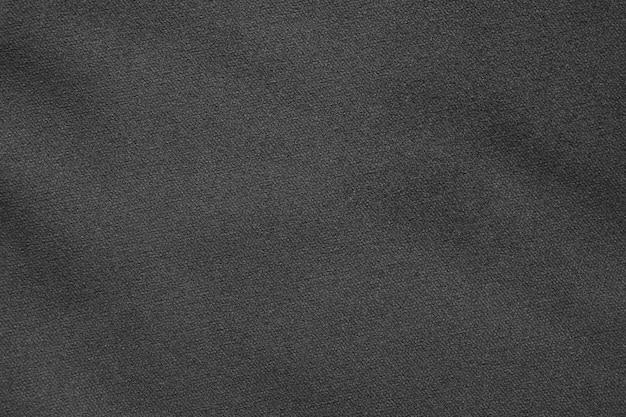 Primo piano sulla trama del tessuto nero