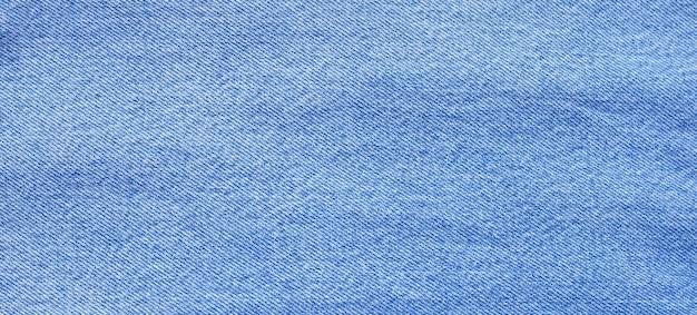 Primo piano di blue jeans texture per superficie.