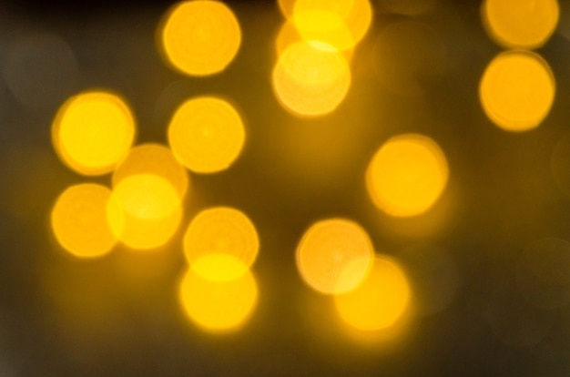 Close up bokeh luci