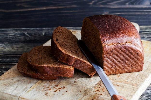 Primo piano sul pane