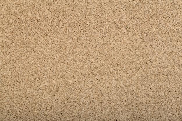 Primo piano su carta da parati trama tappeto marrone
