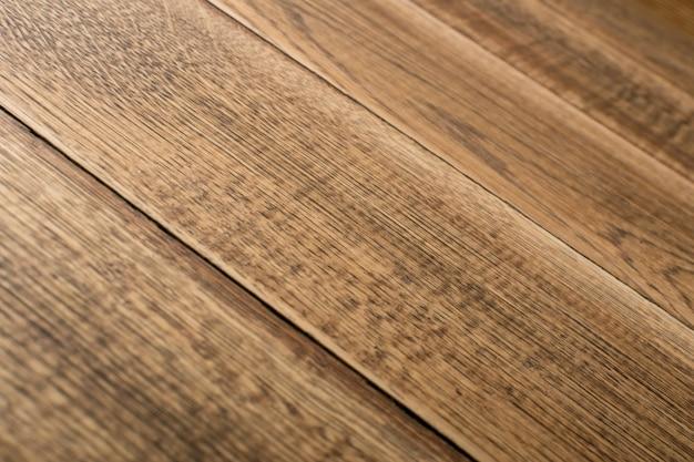 Primo piano sul fondo di struttura in legno marrone