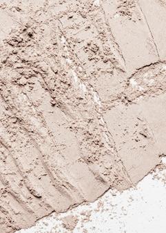 Primo piano macchia di argilla
