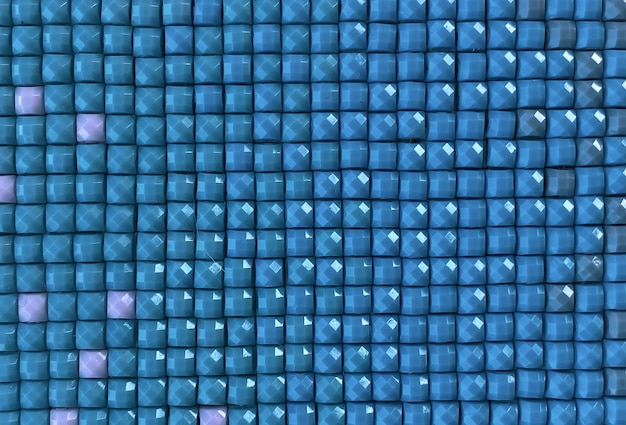Primo piano, ricamo diamante quadrato colorato luminoso. hobby e divertimento.