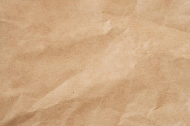 Close up stropicciata carta marrone texture e lo sfondo con lo spazio della copia
