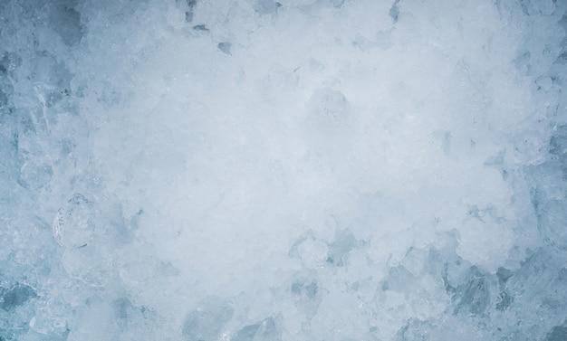 Chiuda in su priorità bassa strutturata del ghiaccio