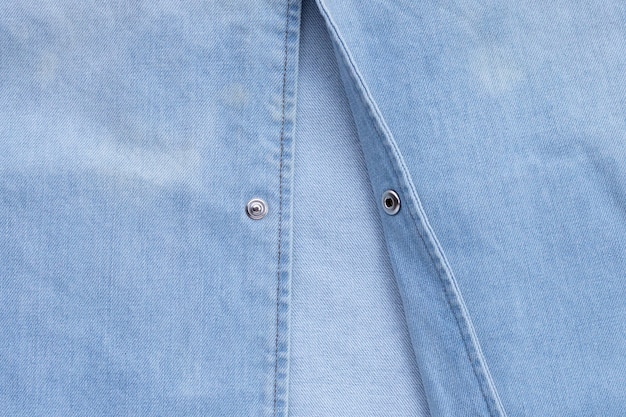 Close up jeans shirt texture. copia spazio