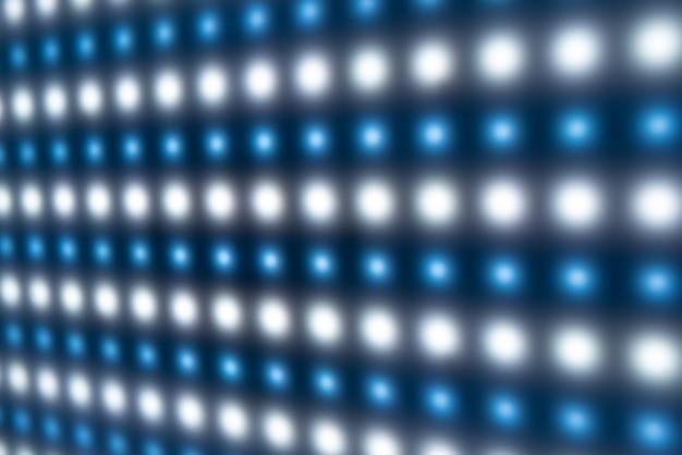Primo piano di un grande pannello con led luminosi luminosi sulla produzione di prodotti radio o su una base militare. concetto di astrazione e attrezzatura di fabbrica