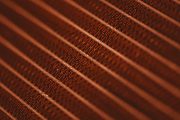 Primo piano sui dettagli di sfondo in metallo