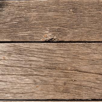 Primo piano sui dettagli di struttura in legno vecchio