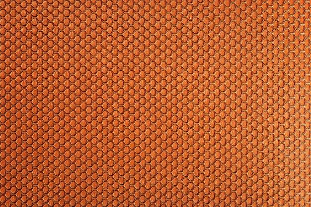 Primo piano foto di texture di stoffa arancione