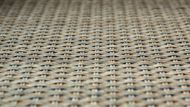 Close up rattan tessere per closeup sfondo con texture