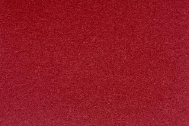 Primo piano di trama o sfondo di carta rossa. texture di alta qualità ad altissima risoluzione