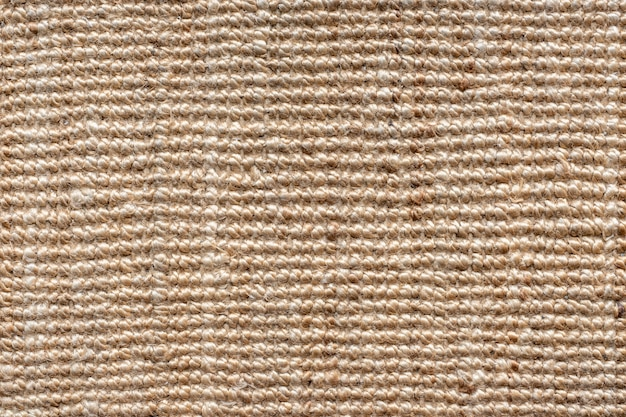 Chiuda sul fondo di struttura della tela di sacco.