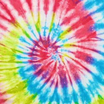 Immagine ravvicinata di sfondo texture tessuto colorante cravatta tie