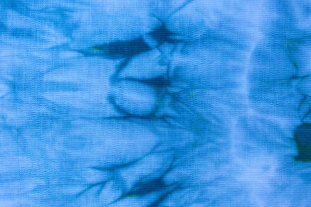 Close up tie dye tessuto modello fatto a mano texture