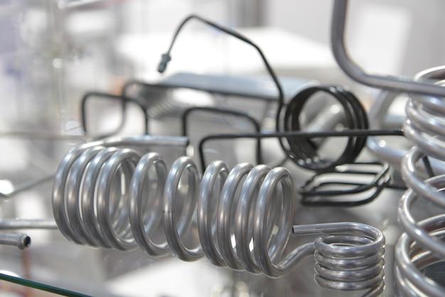 Chiudere il tubo o la bobina dello scambiatore di calore