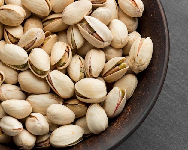 Vista ravvicinata del concetto di pistacchio