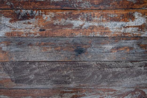 Primo piano del muro fatto di assi di legno