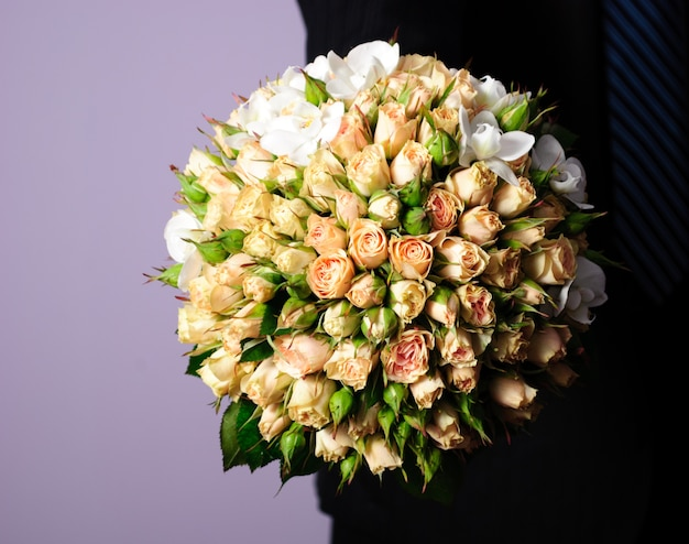 Close up bouquet da sposa