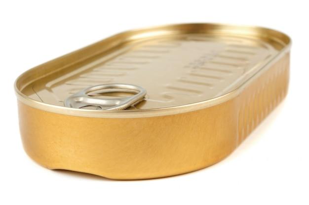 Latta chiusa in metallo dorato