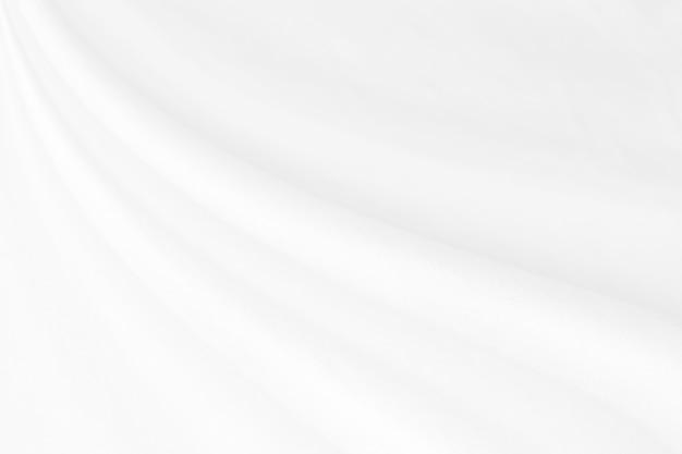Primo piano elegante 3d sgualcito del fondo e della struttura del panno del tessuto di seta bianco. design di sfondo di lusso.-immagine.