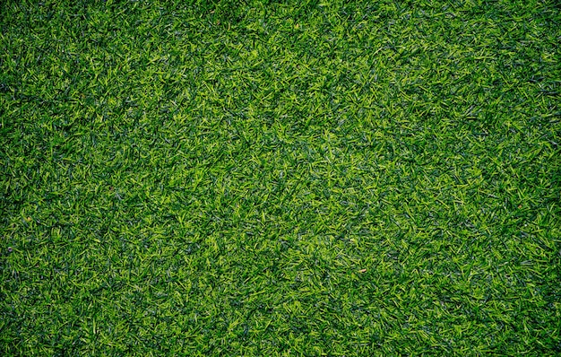 Closeup erba artificiale texture di sfondo