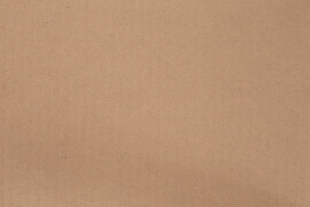 Primo piano della struttura del cartone di carta marrone