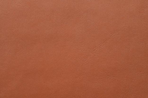 Primo piano della struttura in pelle marrone senza soluzione di continuità per lo sfondo