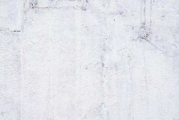 Primo piano del muro dipinto di bianco.