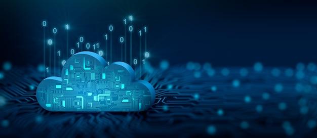 Cloud computing tecnologia cloud servizio cloud cloud storage concept