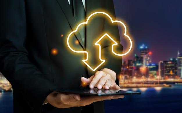 Tecnologia di cloud computing e archiviazione dei dati online