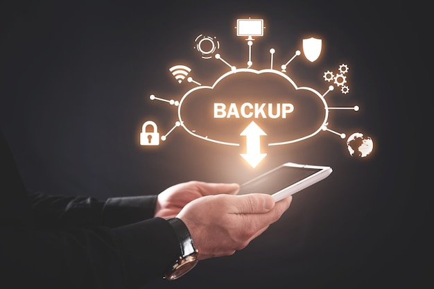 Backup del download dal cloud