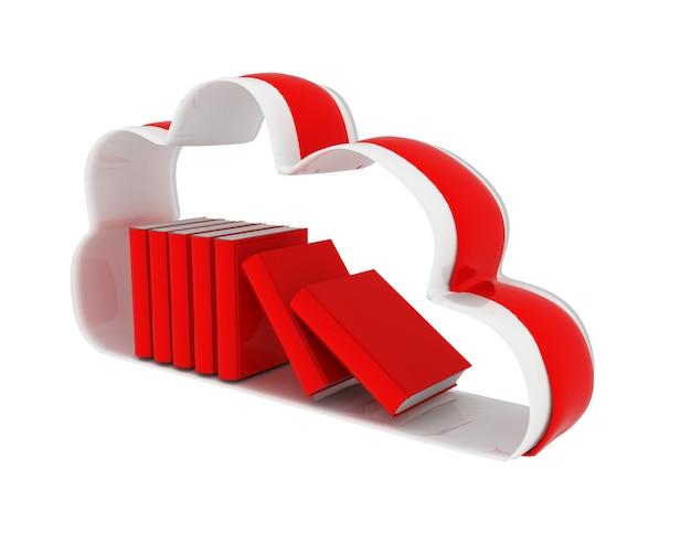Concetto di database della tecnologia cloud