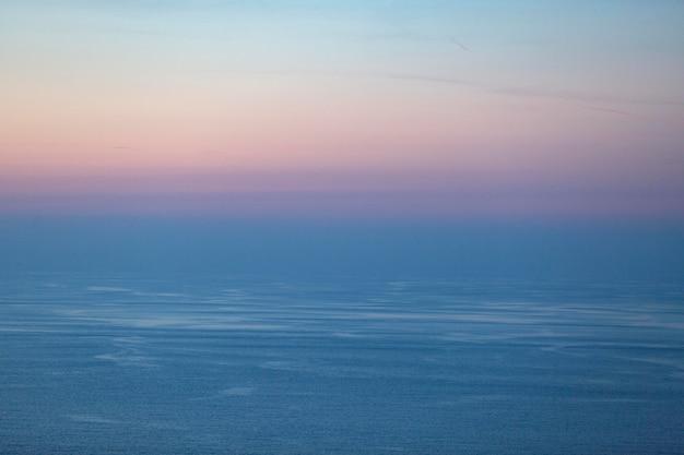 Sfondo di paesaggio nuvoloso nel cielo