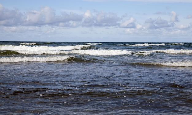 La costa del mar baltico