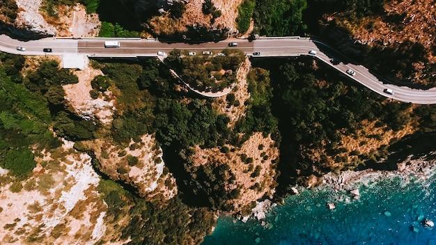 La costa d'italia è dall'aria
