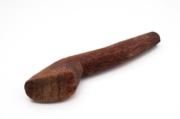 Il cobek è uno degli strumenti tradizionali per fare la salsa chili